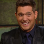Bublé is now 41-years-old and happily married to Luisana Lopilato. (Screengrab: The Late Late Show)