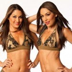 Nikki and Brie Bella. (Photo: Archive)