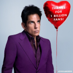 He aims to spread awareness about the PSA test. (Photo: Instagram, @zoolander)