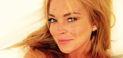Lindsay has voiced her excitement on social media. (Photo: Instagram, @lindsaylohan)