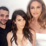 She posted a picture with Kim on Instagram to show her gratitude. (Photo: Instagram, @caitlynjenner)