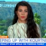 The reality TV star appeared on an Australian TV show and was asked how Kim Kardashian was doing. (Photo: Screengrab, Today Extra)