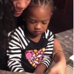 "Rihanna has been posting various clips of a mystery little girl she calls her ""baby."" (Photo: Instagram, @badgalriri)"