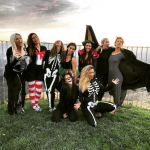 Kourtney Kardashian has shared some pics and videos from inside her early Halloween party. (Photo: Instagram, @kourtneykardash)