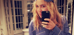 What Kate Hudson does when she's bored