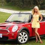 Sara Jean Underwood in 2007: MINI Cooper S. (Photo: Archive)