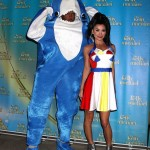 Kelly Ripa and Michael Strahan as Katy Perry and Left Shark in 2015. (Photo: Archive)