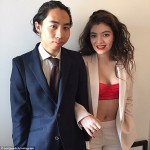 Lorde and James Lowe. (Photo: Archive)
