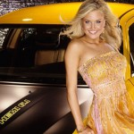 Kara Monaco in 2006: Dodge Charger SRT8 Super Bee. (Photo: Archive)