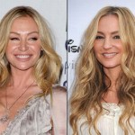 Portia de Rossi and Drea de Matteo. (Photo: Archive)