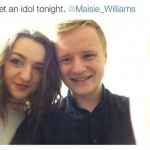 This is definitely not Maisie Williams. (Photo: Archive)