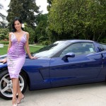 Tiffany Fallon in 2005: Chevrolet Corvette. (Photo: Archive)