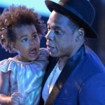 Jay Z and Blue Ivy Carter. (Photo: Archive)