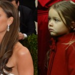 Victoria and Harper Beckham. (Photo: Archive)