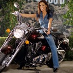Carmella DeCesare in 2004: Harley-Davidson. (Photo: Archive)