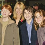 Rupert Grint, Daniel Radcliffe, Emma Watson and J.K. Rowling. (Photo: Archive)
