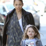 Nicole Richie and Harlow Madden. (Photo: Archive)