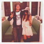 Jamie Chung and Bryan Greenberg as Yoko Ono and John Lennon in 2012. (Photo: Archive)
