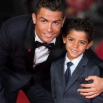 Cristiano Ronaldo and Cristiano Ronaldo Jr. (Photo: Archive)