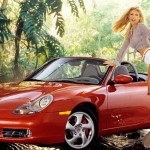 Brande Roderick in 2001: Porsche Boxster. (Photo: Archive)