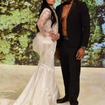 Kelly Ripa and Michael Strahan as Kim Kardashian and Kanye West in 2014. (Photo: Archive)