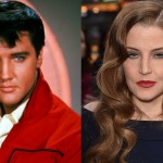 Elvis and Lisa Marie Presley. (Photo: Archive)