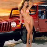 Stacy Sanches in 1996: Jeep Wrangler. (Photo: Archive)