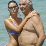 Elisabetta Gregoraci and Flavio Briatore. (Photo: Archive)