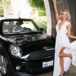 Dani Mathers in 2015: Mini Cooper S convertible. (Photo: Archive)