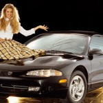 Julie Ciallini in 1995: Eagle Talon TSI. (Photo: Archive)