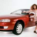 Corinna Harney in 1992: Lexus SC300. (Photo: Archive)