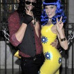 Austin Nichols and Sophia Bush as Russell Brand and Katy Perry in 2010. (Photo: Archive)