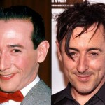 Pee Wee Herman and Alan Cumming. (Photo: Archive)