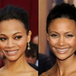 Zoë Saldana and Thandie Newton. (Photo: Archive)