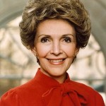 8. Nancy Reagan. (Photo: Archive)
