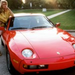 Marianne Gravatte in 1983: Porsche 928. (Photo: Archive)