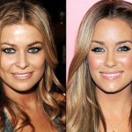 Lauren Conrad and Carmen Electra. (Photo: Archive)