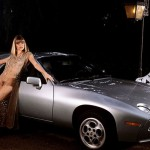 Monique St. Pierre in 1979: Porsche 928. (Photo: Archive)