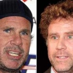 Chad Smith (Red Hot Chili Peppers) and Will Ferrell. (Photo: Archive)