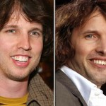 John Heder and James Blunt. (Photo: Archive)