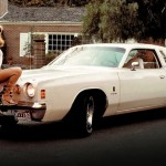 Patti McGuire in 1977: Dodge Charger SE Midnight Edition. (Photo: Archive)