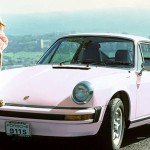 Marilyn Lange in 1975: Porsche 911. (Photo: Archive)