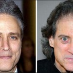 Jon Stewart and Richard Lewis. (Photo: Archive)