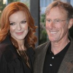 Marcia Cross and Tom Mahoney. (Photo: Archive)