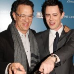 Tom and Colin Hanks. (Photo: Archive)