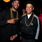 Russell Simmons and a Friend as Run–D.M.C. in 2015. (Photo: Archive)