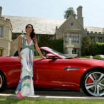 Raquel Pomplun in 2013: Jaguar F-Type. (Photo: Archive)