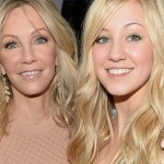 Heather Locklear and Ava Sambora. (Photo: Archive)