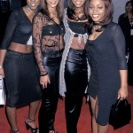 Beyoncé, Kelly Rowland, LeToya Luckett and LaTavia Roberson in 1998. (Photo: Archive)