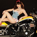 Claire Sinclair in 2011: Harley-Davidson. (Photo: Archive)